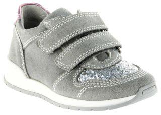 Richter Kinder Halbschuhe Sneaker grau Leder Mädchen Schuhe 3331-141-6101 rock Volley – Bild 1