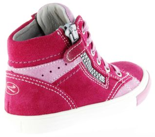Richter Kinder Halbschuhe Sneaker pink Velourleder Mädchen Schuhe 3148-141-3501 fuchsia Fedora – Bild 3