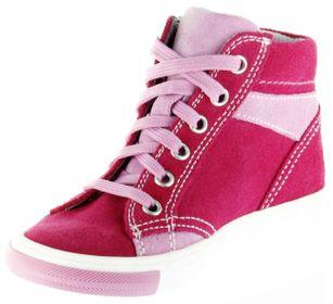 Richter Kinder Halbschuhe Sneaker pink Velourleder Mädchen Schuhe 3148-141-3501 fuchsia Fedora – Bild 8