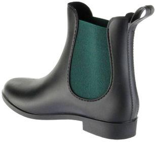 ConWay Gummi-Stiefelette schwarz Regenstiefel Damen Stiefelette Schuhe Simone – Bild 5