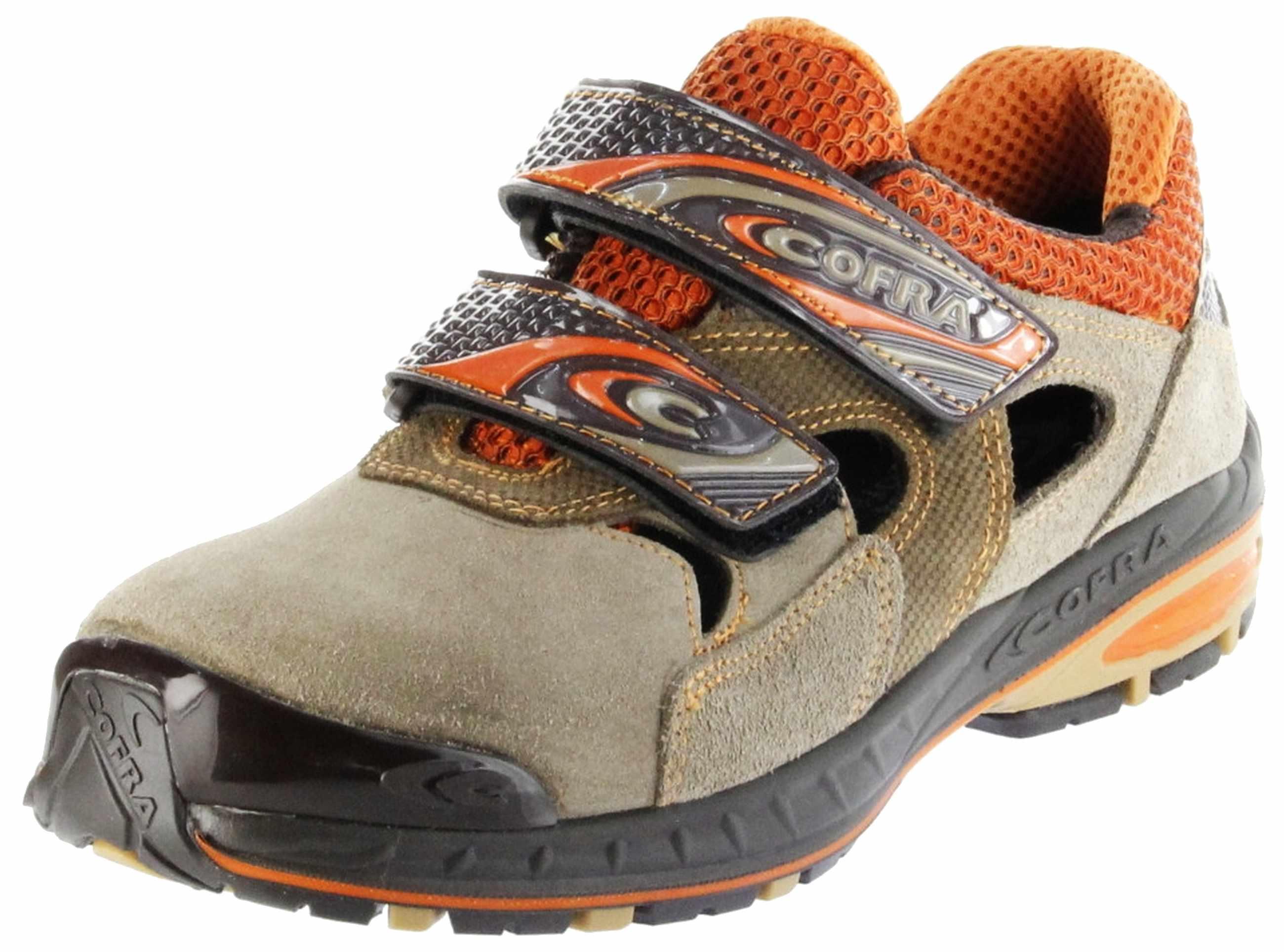 best service fc507 96b14 Cofra Sicherheitsschuhe beige S1P-SRC Arbeitsschuhe Herren SHUTOUT Jogging
