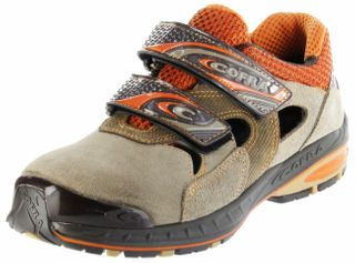 Cofra Sicherheitsschuhe beige S1P-SRC Arbeitsschuhe Herren SHUTOUT Jogging  – Bild 1