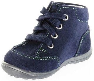 Richter Kinder Minis blau Velourleder Schnürer Jungen-Schuhe 0022-241-7200 atlantic Mini – Bild 8