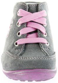 Richter Kinder Minis grau Velourleder Schnürer Mädchen-Schuhe 0022-241-6300 ash Mini – Bild 9