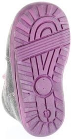 Richter Kinder Minis grau Velourleder Schnürer Mädchen-Schuhe 0022-241-6300 ash Mini – Bild 6