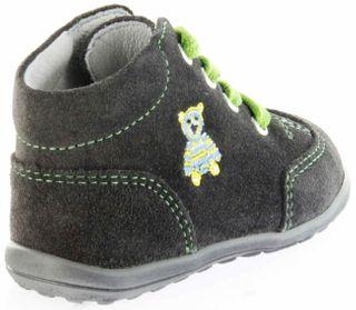 Richter Kinder Minis grau Velourleder Schnürer Jungen Schuhe 0022-241-6500 steel Mini – Bild 3