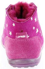 Richter Kinder Minis pink Velour Warm Schnürer Mädchen Schuhe 0025-242-3300 passion Mini – Bild 4