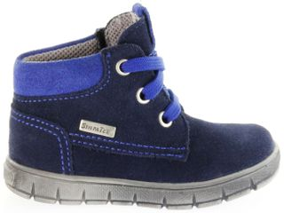 Richter Kinder Lauflerner blau Velourleder SympaTex Jungen Schuhe 1124-242-7201 atlantic Info S – Bild 2