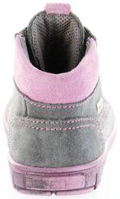 Richter Kinder Lauflerner grau Velourleder SympaTex Mädchen Schuhe 1124-242-6301 ash Info S – Bild 4