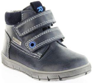 Richter Kinder Lauflerner blau Glattleder SympaTex Jungen Warm Schuhe 1134-241-7200 atlantic Info S – Bild 1
