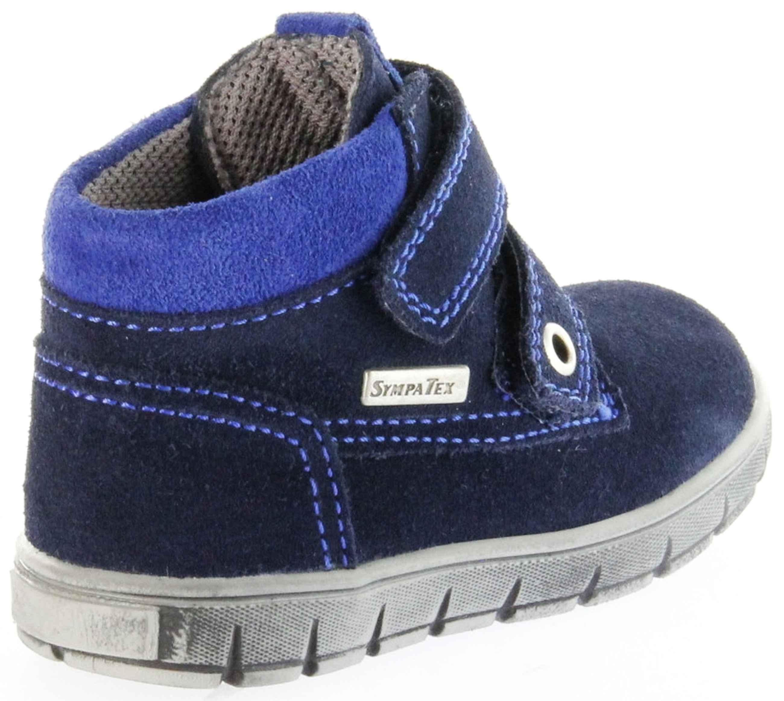 9f75a2c0fb1c87 Richter Kinder Lauflerner Velourleder blau SympaTex Jungen Schuhe  1134-242-7201 atlantic Info S