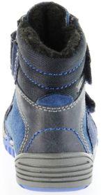 Richter Kinder Lauflerner-Stiefel Velour Warm blau SympaTex Jungen Schuhe 1034-241-7201 atlantic Marvis S – Bild 4