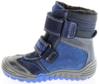 Richter Kinder Lauflerner-Stiefel Velour Warm blau SympaTex Jungen Schuhe 1034-241-7201 atlantic Marvis S – Bild 7