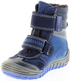 Richter Kinder Lauflerner-Stiefel Velour Warm blau SympaTex Jungen Schuhe 1034-241-7201 atlantic Marvis S – Bild 8