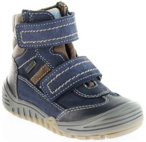 Richter Kinder Winter Stiefel Boots Velour blau SympaTex Jungen Schuhe 6731-241-7201 atlantic Marvis – Bild 1