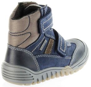 Richter Kinder Winter Stiefel Boots Velour blau SympaTex Jungen Schuhe 6731-241-7201 atlantic Marvis – Bild 3