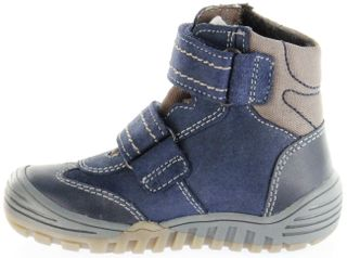 Richter Kinder Winter Stiefel Boots Velour blau SympaTex Jungen Schuhe 6731-241-7201 atlantic Marvis – Bild 7