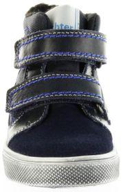Richter Kinder Halbschuhe Sneaker blau Warm Leder Sympatex Jungen Schuhe 6534-241-7201 atlantic Ola – Bild 9
