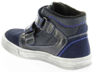 Richter Kinder Halbschuhe Sneaker blau Warm Leder Sympatex Jungen Schuhe 6534-241-7201 atlantic Ola – Bild 5