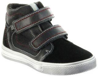 Richter Kinder Halbschuhe Sneaker schwarz Warm Leder Sympatex Jungen Schuhe 6534-241-9901 black Ola – Bild 1
