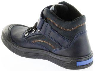 Richter Kinder Halbschuhe Sneaker blau Warm Leder Sympatex Jungen Schuhe 7542-242-7201 atlantic Eros – Bild 5