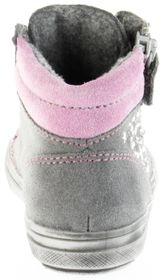 Richter Kinder Halbschuhe Blinkies Sneaker grau Velour Warm Mädchen Schuhe WMS 4449-241-6301 ash Ilva – Bild 4