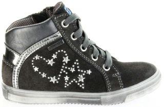 Richter Kinder Halbschuhe Sneaker grau Velour SympaTex Mädchen Schuhe 4547-241-6501 steel Vittoria – Bild 2