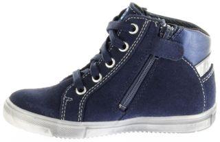 Richter Kinder Halbschuhe Sneaker blau Velour SympaTex Mädchen Schuhe 4547-241-7201 atlantic Vittoria – Bild 7