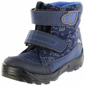 Richter Kinder Lauflerner-Stiefel Warm blau SympaTex Jungen Schuhe WMS 2033-242-7202 atlantic Freestyle – Bild 1