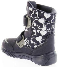 Richter Kinder Winter Boots Stiefel blau Warmfutter SympaTex Mädchen Blinkie WMS 5137-241-7201 atlantic Husky – Bild 5