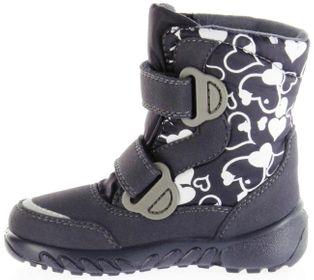 Richter Kinder Winter Boots Stiefel blau Warmfutter SympaTex Mädchen Blinkie WMS 5137-241-7201 atlantic Husky – Bild 7