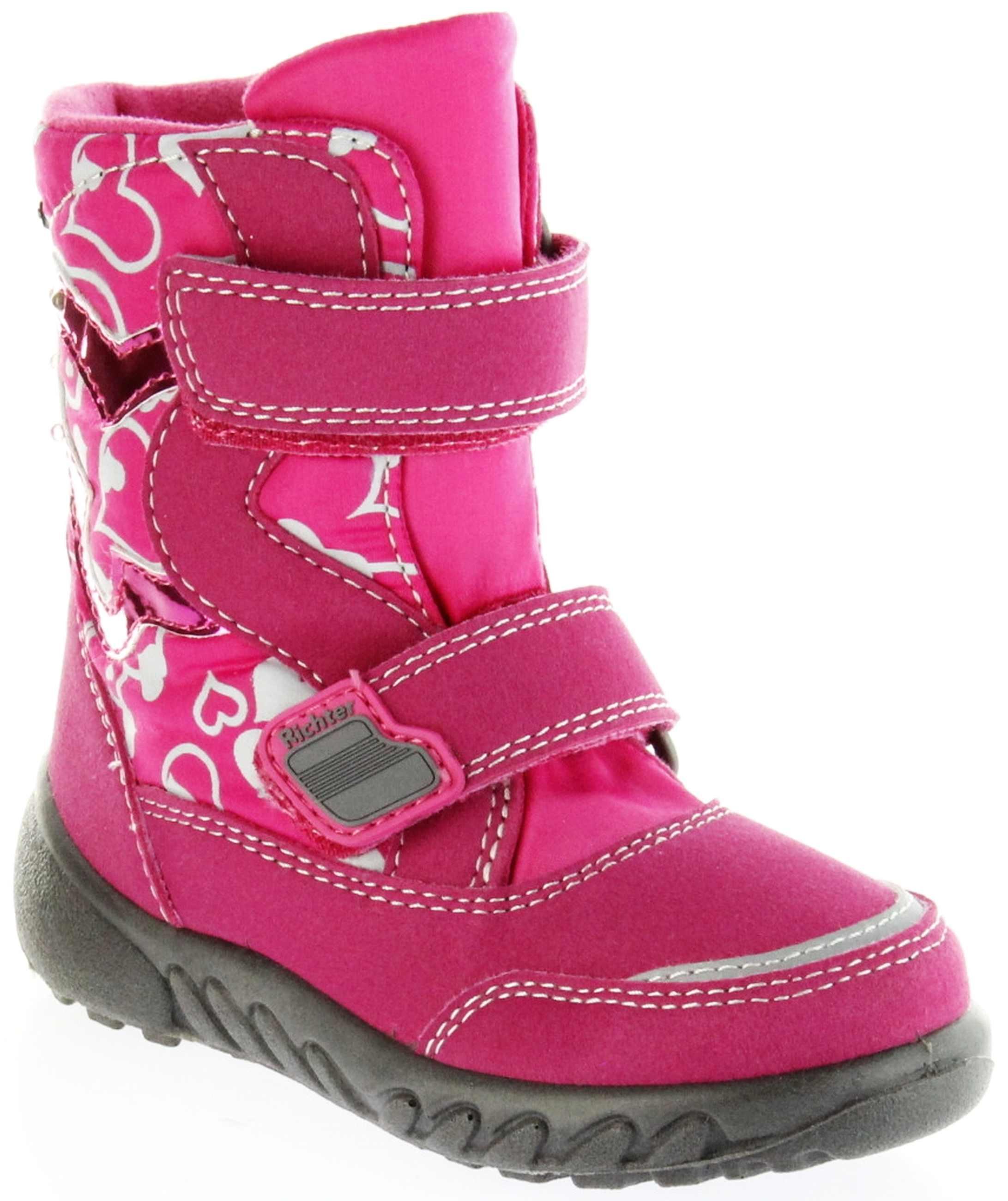sports shoes 53fc4 0303a Richter Kinder Winter Boots Stiefel pink Warmfutter SympaTex Mädchen  Blinkie WMS 5137-241-3500 fuchsia Husky