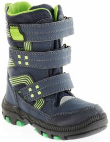 Richter Kinder Winter Stiefel Boots blau SympaTex Warm Jungen 8550-241-7201 atlantic WMS Tundra – Bild 1