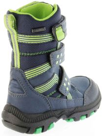 Richter Kinder Winter Stiefel Boots blau SympaTex Warm Jungen 8550-241-7201 atlantic WMS Tundra – Bild 3