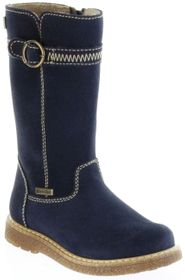 Richter Kinder Winter Stiefel blau Velourleder SympaTex Warm Mädchen 4752-241-7200 atlantic Audi
