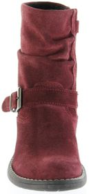 Richter Kinder Winter Stiefel rot Velourleder SympaTex Warm Mädchen 4251-241-7400 port Mary – Bild 9