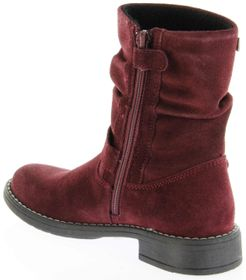 Richter Kinder Winter Stiefel rot Velourleder SympaTex Warm Mädchen 4251-241-7400 port Mary – Bild 5