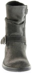 Richter Kinder Winter Stiefel grau Velourleder SympaTex Warm Mädchen 4251-241-6500 steel Mary – Bild 9