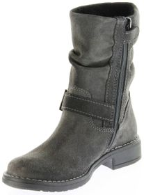 Richter Kinder Winter Stiefel grau Velourleder SympaTex Warm Mädchen 4251-241-6500 steel Mary – Bild 8