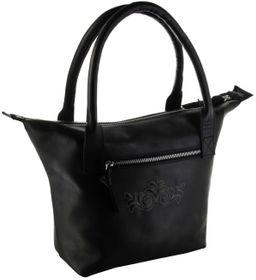 Bergheimer Trachten Damen Leder Trachtentasche JENNY1004 schwarz – Bild 1