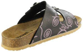 Bioline Bios Sandalen Hausschuhe Lederdeck bronze leicht non-marking Sohle Damen Schuhe Amarilli – Bild 5