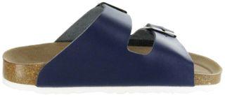 ÖkoWalk Bios Sandalen Hausschuhe Lederdeck blau leicht non-marking Sohle Herren Schuhe Theo – Bild 7