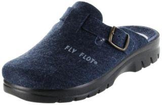 FlyFlot Pantoletten Hausschuhe Dämpfung bequem blau Herren Schuhe 11397 – Bild 1