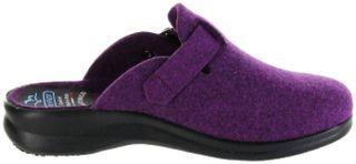FlyFlot Pantoletten Hausschuhe Dämpfung bequem violett Damen Schuhe 25448 ciclamino – Bild 7