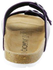 ÖkoWalk Bios Sandalen Hausschuhe Lederdeck purple leicht non-marking Sohle Damen Schuhe Victoria – Bild 4