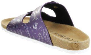 ÖkoWalk Bios Sandalen Hausschuhe Lederdeck purple leicht non-marking Sohle Mädchen Schuhe Victoria – Bild 5
