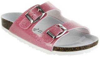 Goldstar Bios Sandalen Hausschuhe Lederdeck pink leicht non-marking Sohle Kinder Mädchen Schuhe 1522 – Bild 1