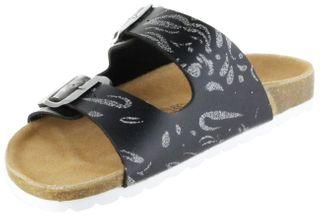 ÖkoWalk Bios Sandalen Hausschuhe Lederdeck black leicht non-marking Sohle Damen Schuhe Victoria – Bild 8