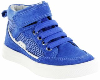 Richter Kinder Halbschuhe Sneaker blau Velourleder Jungen-Schuhe 6542-341-6911 lagoon Ola – Bild 1