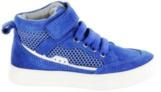 Richter Kinder Halbschuhe Sneaker blau Velourleder Jungen-Schuhe 6542-341-6911 lagoon Ola – Bild 2